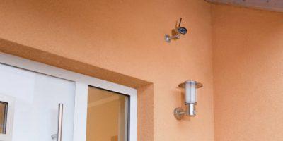 Videoüberwachung, IP-Kamera, Überwachungskamera von abus